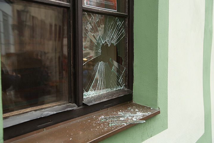 A2B Glass are able to board up broken windows while they are being repaired in Anglesey.